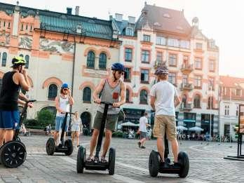 Warschau: 3-stündige Sightseeing-Tour mit dem Segway