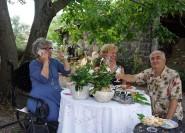 Rom: Privates Mittagessen und Weinprobe auf dem Land