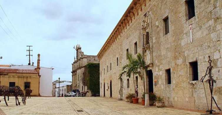 From Punta Cana: Full-Day Santo Domingo City Tour