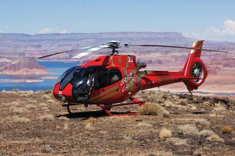 Page: Horseshoe Bend Air and Tower Butte Helicopter Landing