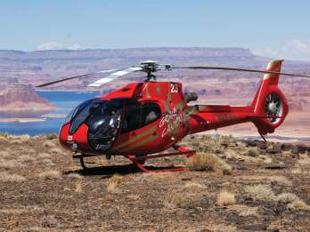 Seite: Horseshoe Bend Air und Tower Butte Helicopter Landing