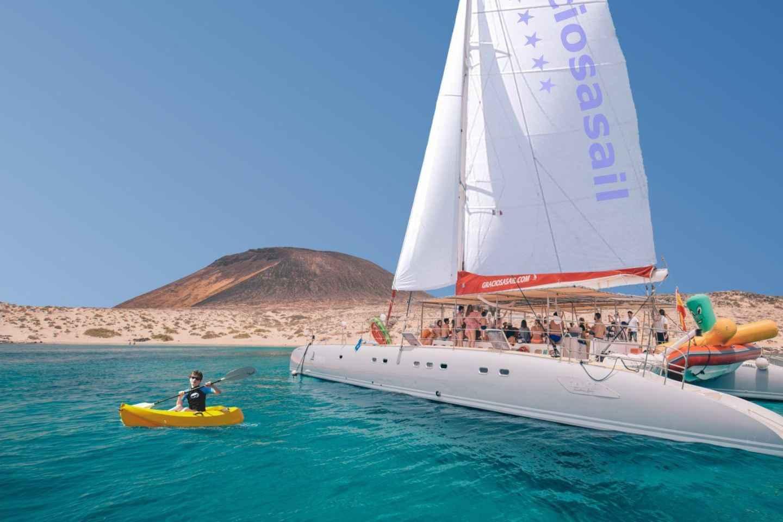 Lanzarote: Segeltörn nach La Graciosa