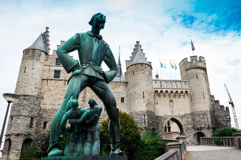 Ab Brüssel: Tagestour nach Antwerpen & Gent