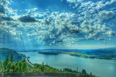 Portland: Columbia River Gorge Waterfalls Morning Tour