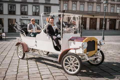 Vienna: Culinary Sightseeing Tour in an Electric Vintage Car