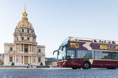 Paris: Full-Day Hop-On Hop-Off Classic Tour & Cruise