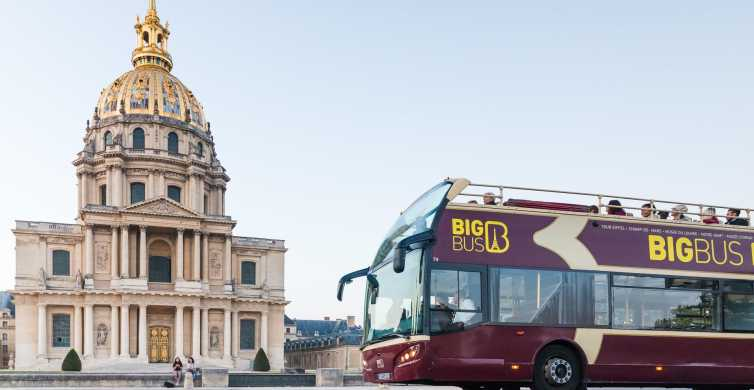 Paris: Full-Day Hop-On Hop-Off Classic Tour & Cruise