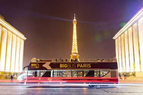 Paris: 2-Hour Night Tour by Open-Top Bus