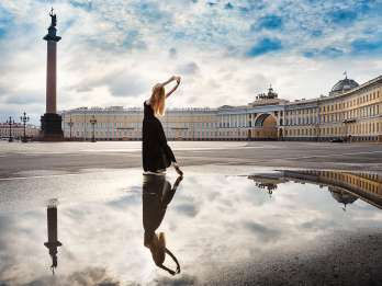 Tagestour in St. Petersburg mit Führungen & Fahrer