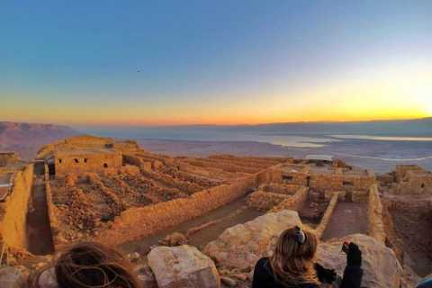 From Tel Aviv/Jerusalem: Masada Sunrise, Ein Gedi & Dead Sea