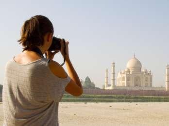 Taj Mahal: Geteilte Gruppentour mit Transfer von Neu Delhi