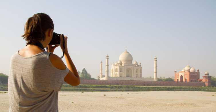 Taj Mahal: Tour grupal compartido con traslado desde Nueva Delhi