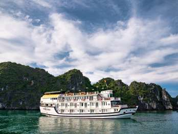 Paloma Bootsfahrt 4-Sterne: Spektakuläre Halong Bay 2 Tage