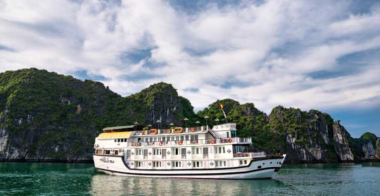 Paloma Cruise 4-Star: Spectacular HaLong Bay 2 Days 1 Night