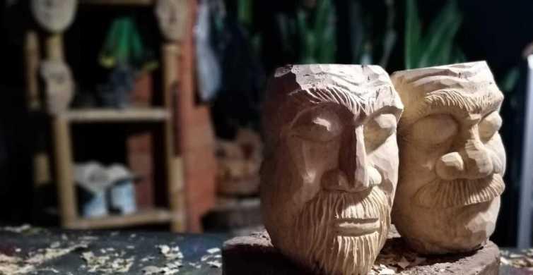 Ubud: 3-Hour Wood Carving Master Class