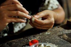 Ubud: 3 horas de aula de fabricação de jóias de prata