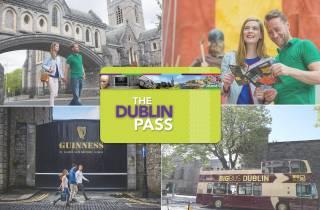 Dublin Pass con tour in autobus: 33 attrazioni gratis