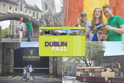 Dublin Pass with Bus Tour: Free Entry to 33 Attractions