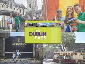 Dublin Pass mit Bustour & Eintritt zu 33 Attraktionen