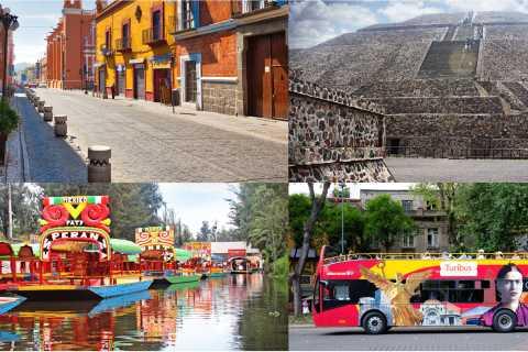 Ciudad de México y alrededores: tour de 4 días