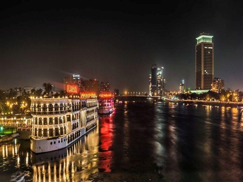 Rejs po Nilu z kolacją i programem rozrywkowym