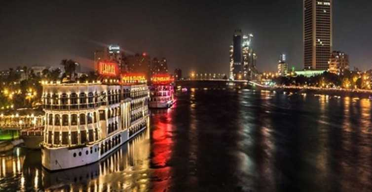 Cairo: Dinner Cruise on the Nile River with Entertainment