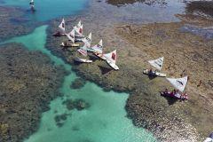 De Recife: Excursão de 1 Dia à Praia de Porto de Galinhas