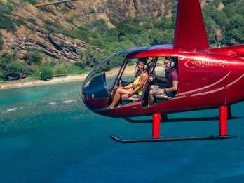 Oahu: 45-minütiger Helikopter-Rundflug mit oder ohne Türen