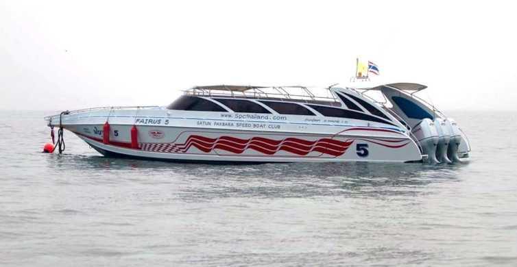 Koh Lanta: Speed Boat Transfer To Koh Lipe
