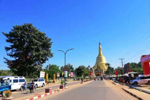 From Yangon: Private Bago Day Tour with Lunch
