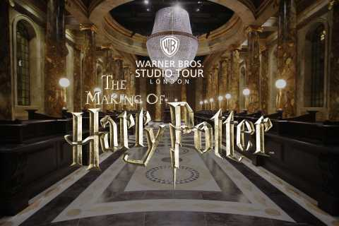 London: Harry Potter Warner Brothers Studio Tour & Transfers