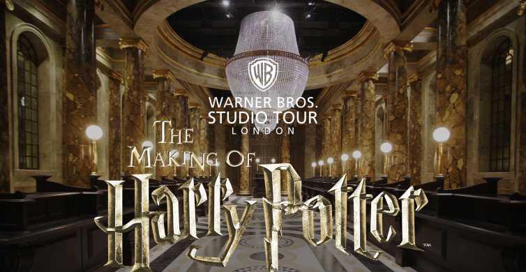 London: Harry Potter Warner Brothers Studio Tour & Transfers