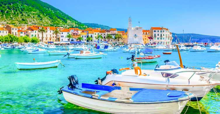 Split: 6 Islands Tour and Blue Cave Full-Day Group Tour