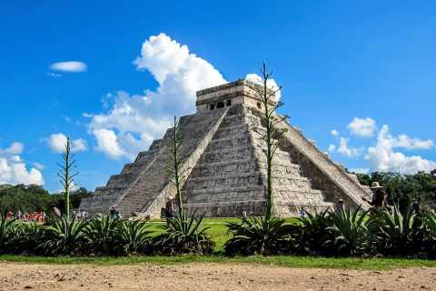 De Cancún/Playa del Carmen: Chichen Itzá, Hubiku e Ek'Balam