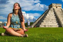 Excursão em Pequeno Grupo a Chichen Itzá, Ik Kil e Coba