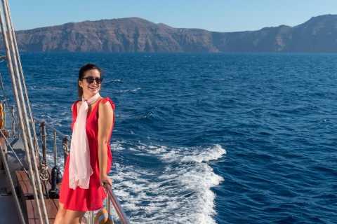 Santorini: Caldera and Oia with King Thiras Boat