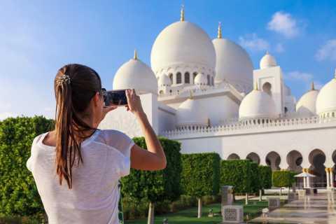 Abu Dhabi: 24- eller 48-timers hop-on-hop-off-billet