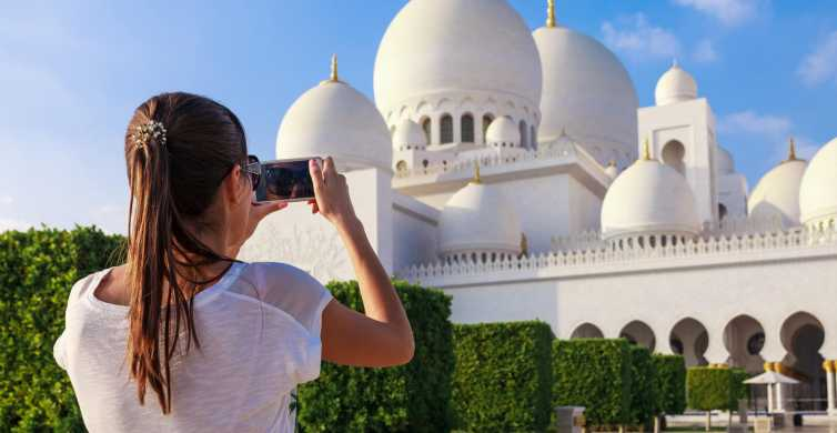 Abu Dhabi: Hop-On Hop-Off Premium or Deluxe Ticket