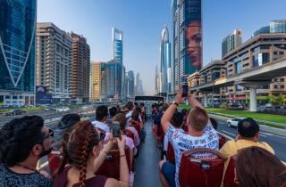 Big Bus: Hop-On-Hop-Off-Tickets in Abu Dhabi & Dubai