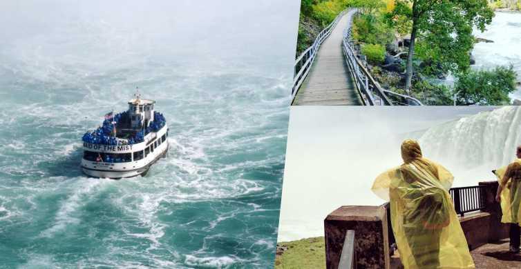 Niagarafälle TourPass: USA und Kanada Attraktionen Pass
