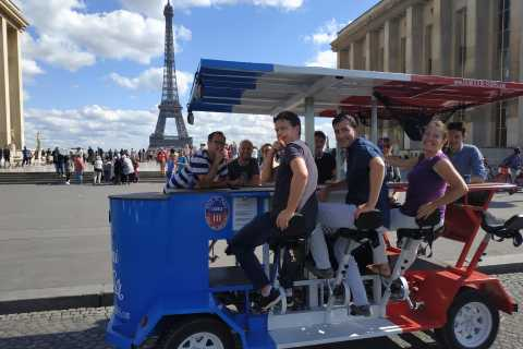 Paris: 1.5-Hour Eiffel Tower Beer Bike Tour