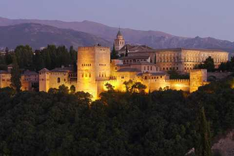 Alhambra Night Tour: Carlos V Palace, Generalife and Gardens