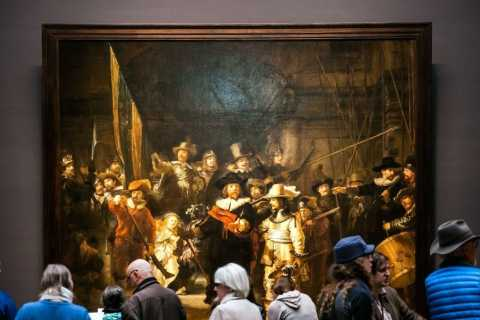 Amsterdam: Rijksmuseum Guided Tour and Ticket