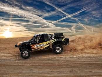 Las Vegas: Exotisches Offroad-Truck-Erlebnis