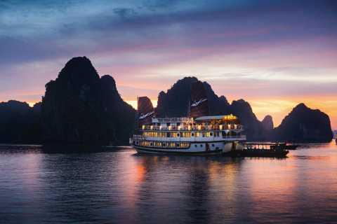 Bai Tu Long Bay 2-Day Cruise by Junk Boat