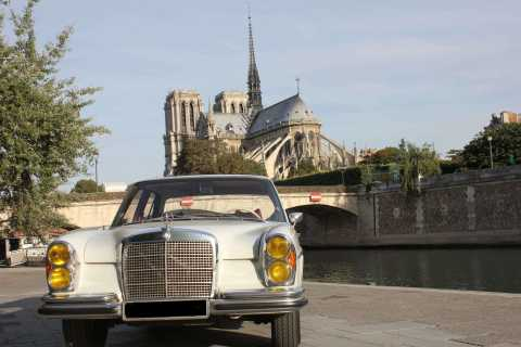 Paris: 2.5-Hour Guided Vintage Car Tour and Wine Tasting