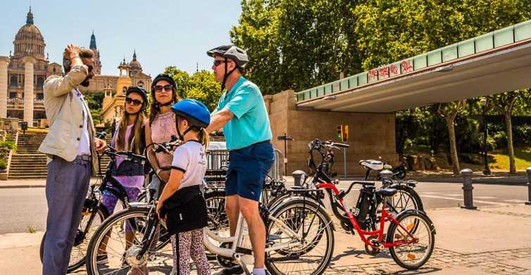Barcelona Highlights Private E-Bike Tour