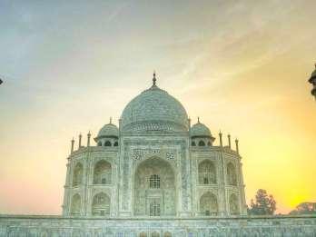 Agra: Tagestour mit Taj Mahal und Rotem Fort