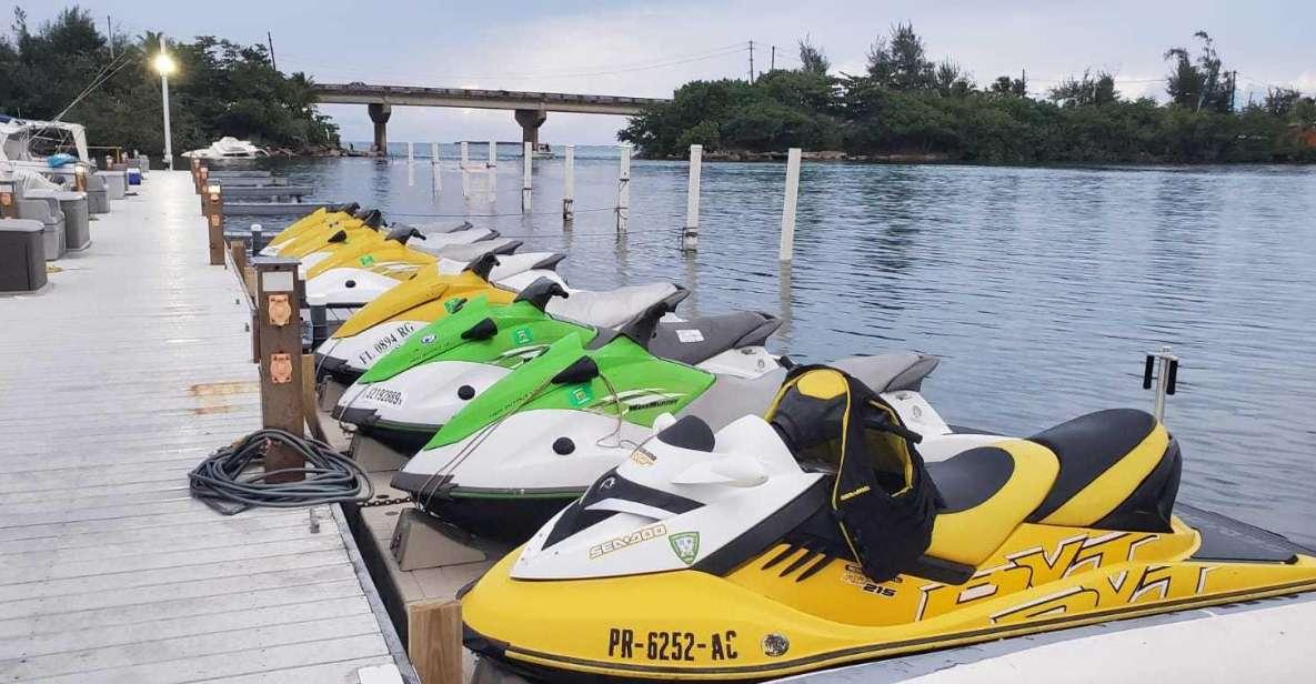 Isla Verde, Puerto Rico: Jet Ski Tour