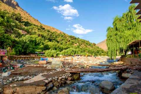 From Marrakech: Ourika Valley Day Trip and Sunset Camel Ride